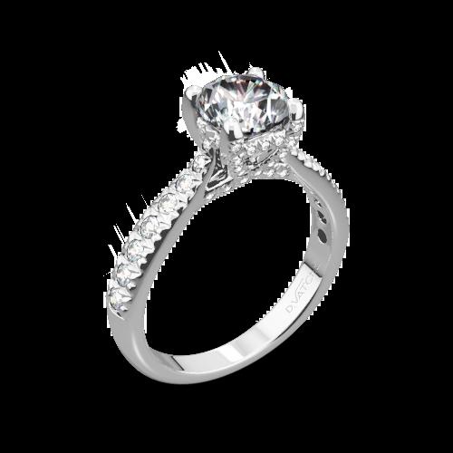 Vatche 1026 Jennifer Diamond Engagement Ring