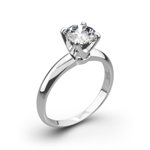 Vatche U-114 5th Avenue Solitaire Engagement Ring