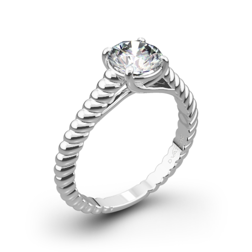 Splendor Solitaire Engagement Ring by Vatche