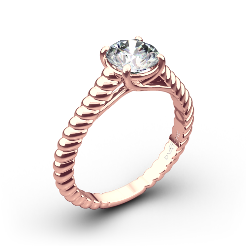 Vatche 1500 Splendor Solitaire Engagement Ring