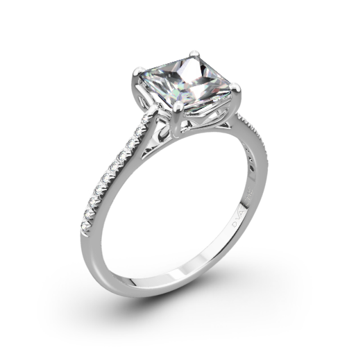 Vatche 1504 Alegria Pave Diamond Engagement Ring
