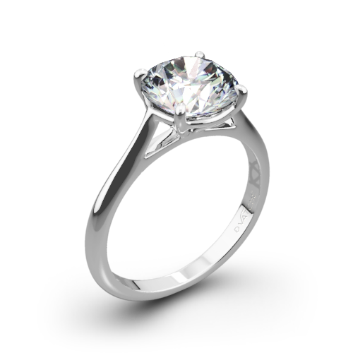 Vatche 1508 Venus Solitaire Engagement Ring