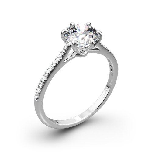 Vatche 1514 Felicity Pave Diamond Engagement Ring