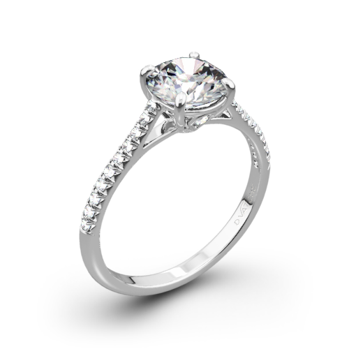 Vatche 1515 Inara Pave Diamond Engagement Ring