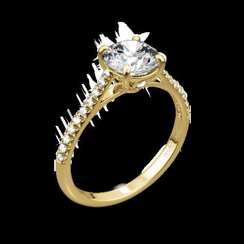 Vatche 1515 Inara Pave Diamond Engagement Ring