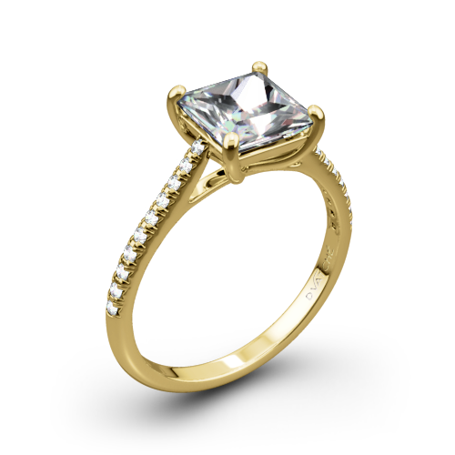 Vatche 1517 Aurora Diamond Engagement Ring for Princess