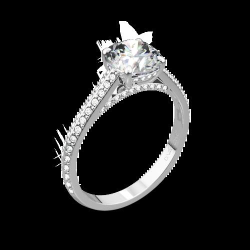 Vatche 1536 Euphoria Diamond Engagement Ring
