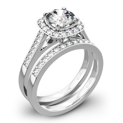 Vatche 180 Grace Diamond Wedding Set