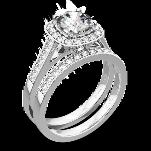 Vatche 180 Grace Diamond Wedding Set