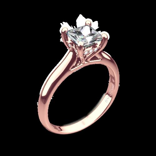 Vatche 188 Caroline Solitaire Engagement Ring for Princess