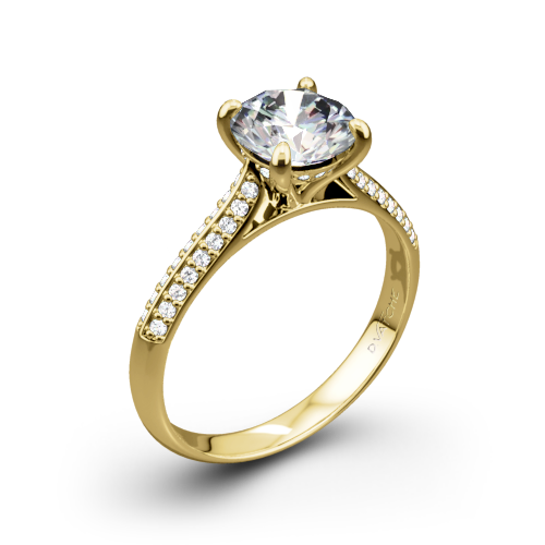 Vatche 189 Caroline Pave Diamond Engagement Ring
