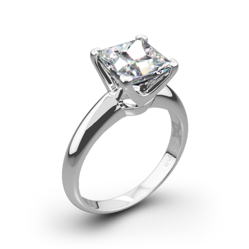 Vatche U-114 5th Avenue Solitaire Engagement Ring for Princess