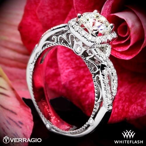 Verragio AFN-5005CU-2 Diamond Engagement Ring