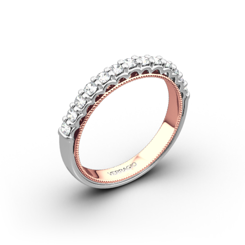 Verragio Classic 901W-2T Two Tone Diamond Wedding Ring