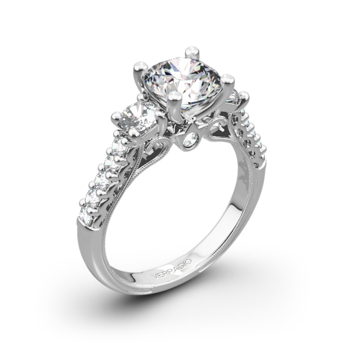 wedding cut ct princess rng engagement invisible ring gold diamond white rings ladies
