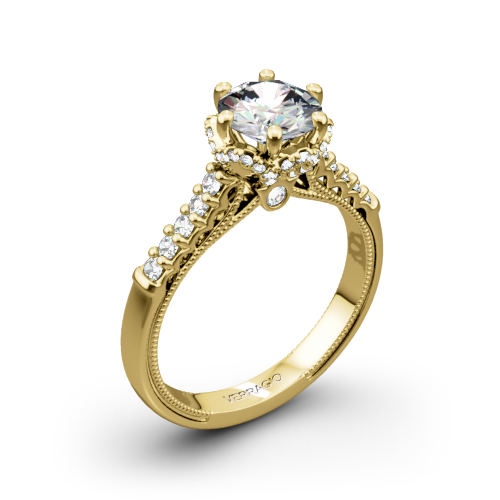 Verragio Classic 911RD7 Diamond Engagement Ring