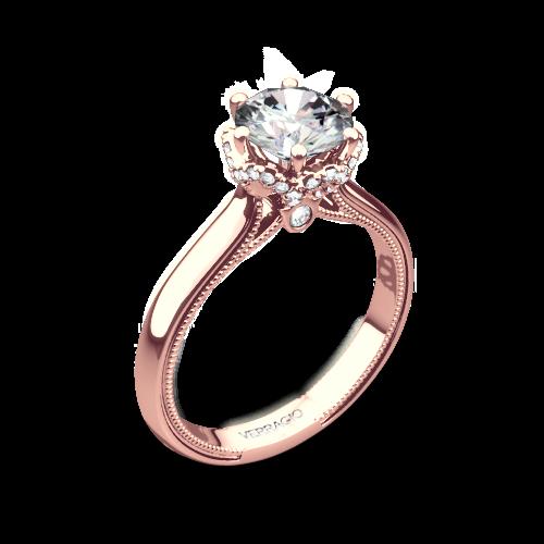 Verragio 939r7 Solitaire Engagement Ring 3657