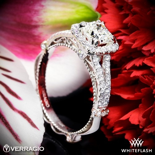 Verragio DL-107CU Diamond Engagement Ring