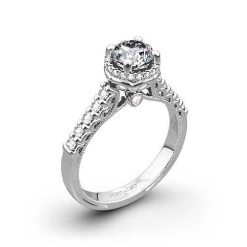 Verragio Renaissance 916RD7 Diamond Engagement Ring