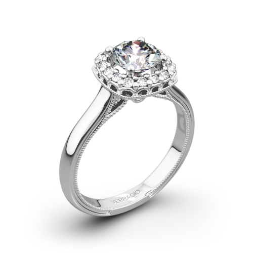 Verragio Classic 924CU Solitaire Engagement Ring