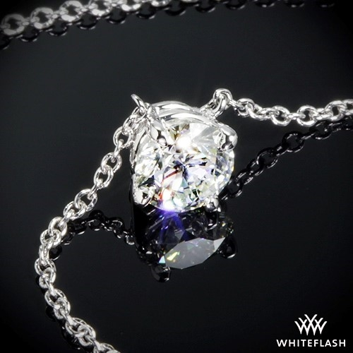 'Four Corners' Diamond Pendant