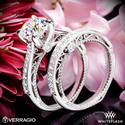 Verragio AFN-5047RD-1 Diamond Engagement Ring