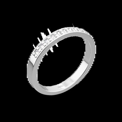 Matching Flush Fit Diamond Wedding Band 400