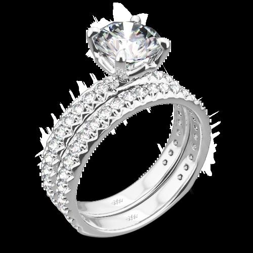 Harmony Diamond Wedding Set