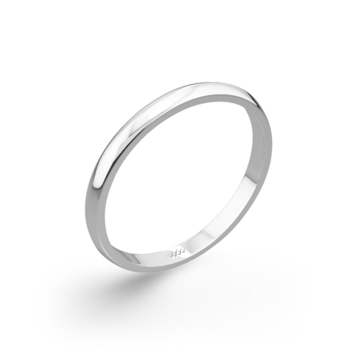 Knife-Edge Wedding Ring