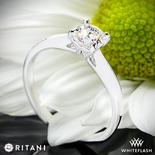 Ritani 1RZ7241 Solitaire Engagement Ring