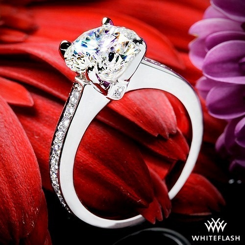 Scarlet Diamond Engagement Ring