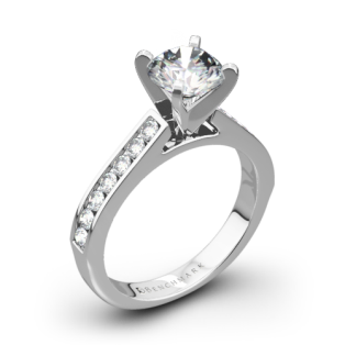 Benchmark HCC2 Channel-Set Diamond Engagement Ring