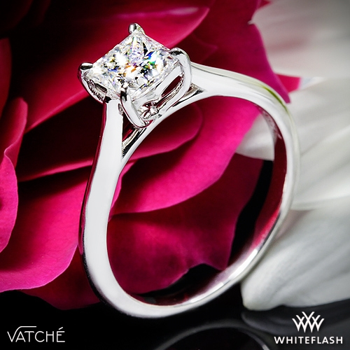 Vatche 1503 Alegria Solitaire Engagement Ring