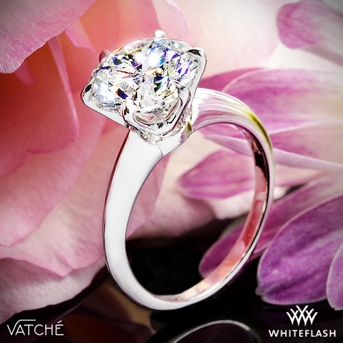 Vatche U-113 6 Prong Engagement Ring