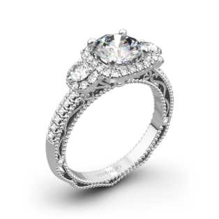 Verragio Venetian Lace AFN-5025CU-4 Three Stone Engagement Ring
