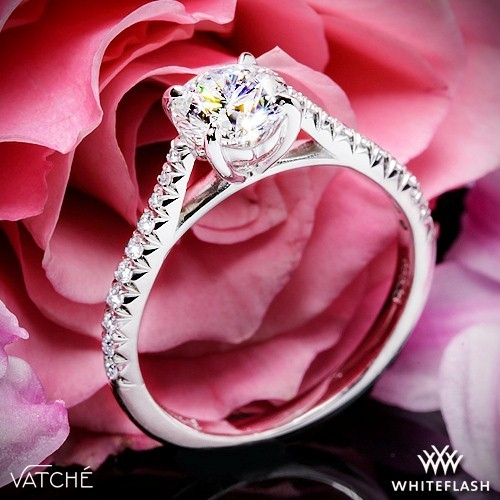Vatche 1535 Melody Diamond Engagement Ring