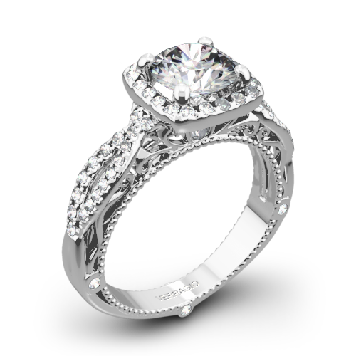 Verragio Venetian Lido AFN-5005CU-2 Cushion Halo Diamond Engagement Ring