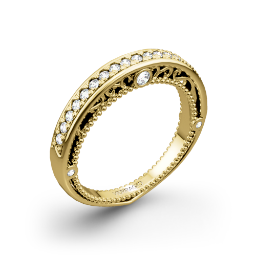 Verragio AFN-5047W-1 Venetian Wedding Ring