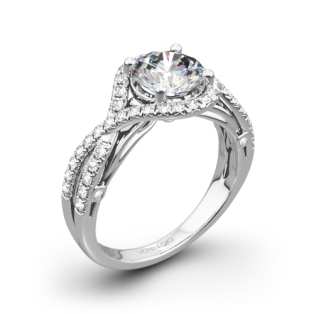 Verragio ENG-0405 4 Prong Bypass Diamond Engagement Ring
