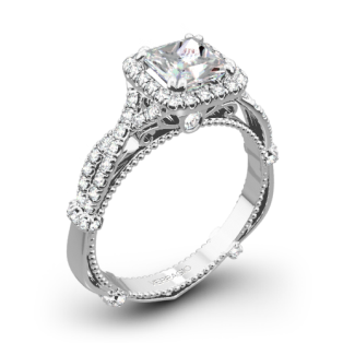 Verragio Parisian DL-106P Twisted Diamond Engagement Ring for Princess