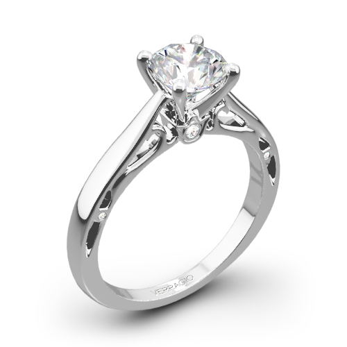 Verragio ENG-0409R Cathedral Solitaire Engagement Ring