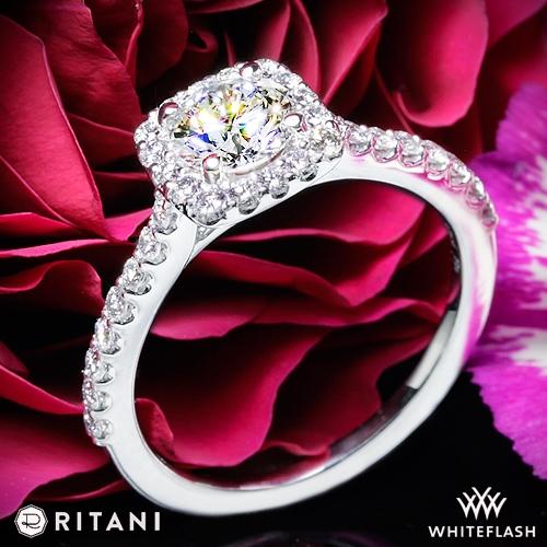 Ritani 1RZ1321 Engagement Ring