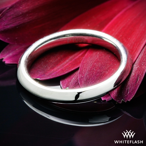 Platinum Knife-Edge Wedding Ring
