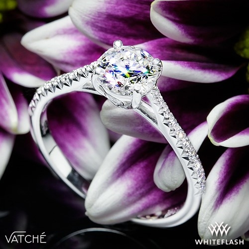 Vatche 1515 Inara Pave Engagement Ring