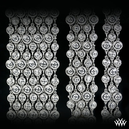 Enmeshed Diamonds Diamond Bracelet Collection