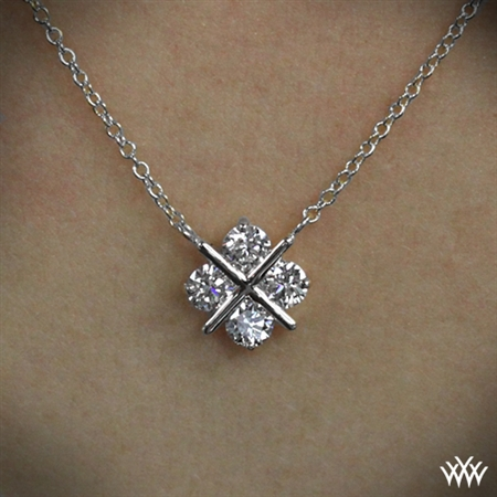 XO Diamond Pendant