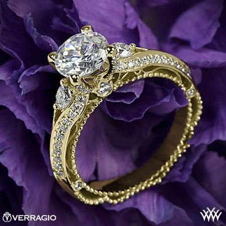 Verragio Venetian Lace AFN-5021R-4 Diamond Engagement Ring