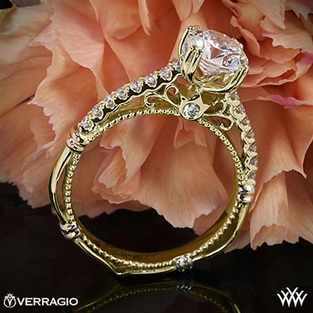 Verragio Parisian D-103S Prong Set Diamond Engagement Ring
