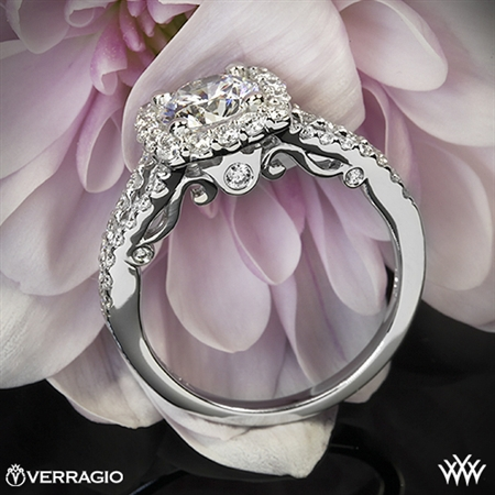 Verragio INS-7046 Split Shank Shared-Prong Diamond Engagement Ring