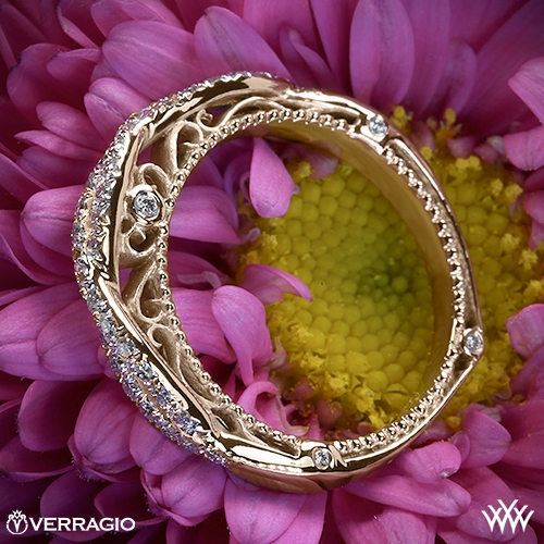 Verragio AFN-5005W-2 Twisted Diamond Wedding Ring